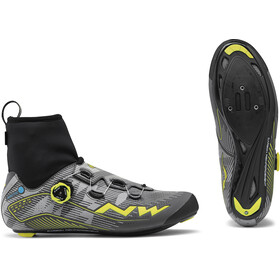 Northwave Flash Arctic GTX Road Shoes Herren reflective/yellow fluo